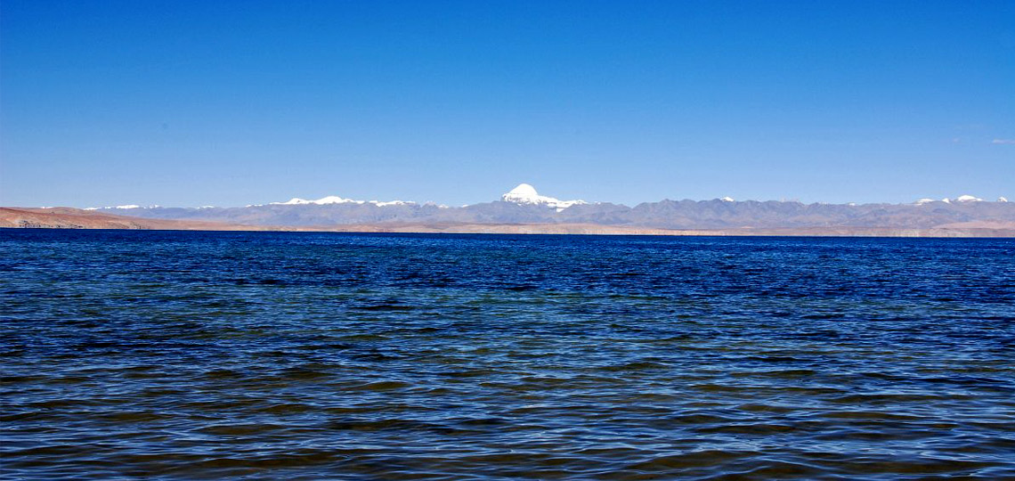 Mount Kailash and Holy Lake Mansarovar