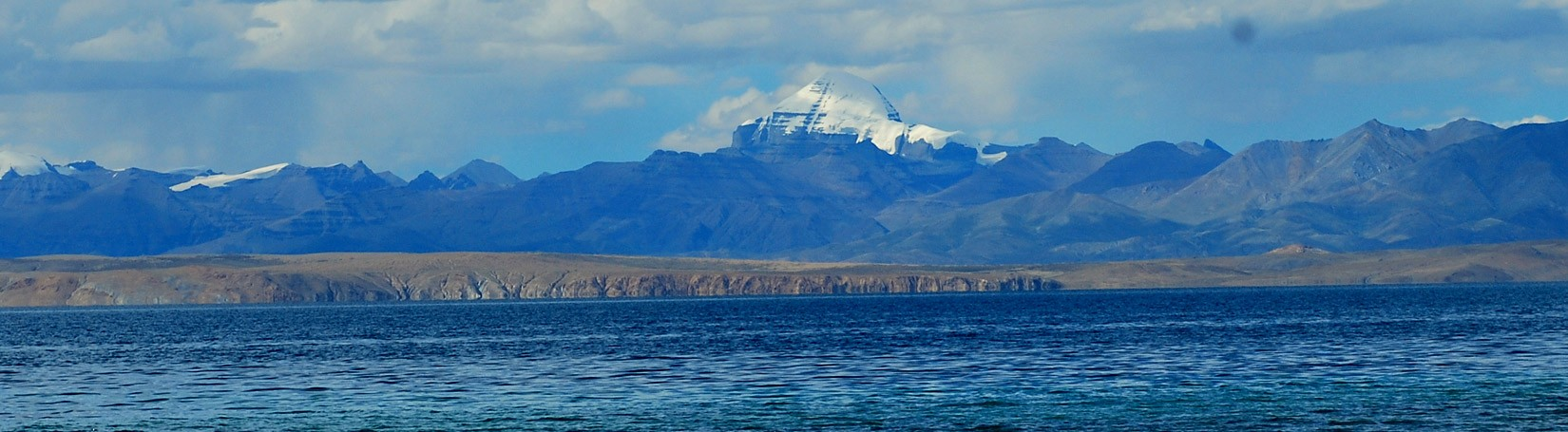 Mount Kailash and Lake Mansarovar