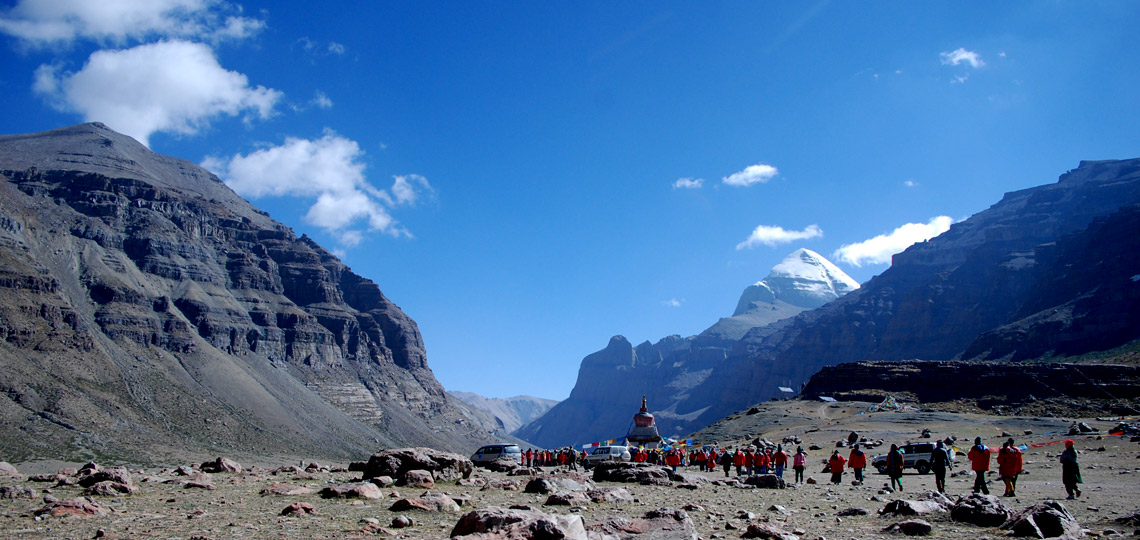 Valley of The God Kailash