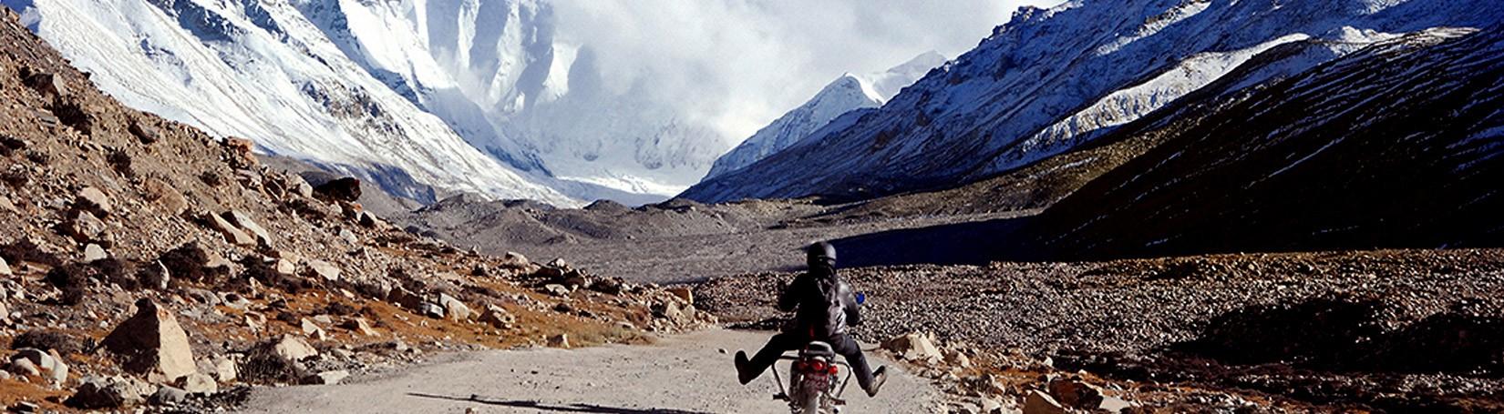 Motorbike Tour in Tibet