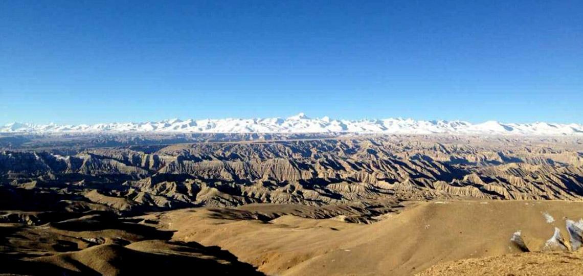 Ruins in Kashgar valley
