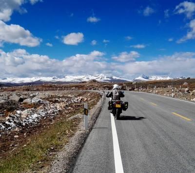 Tibet Motor Biking