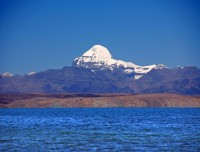 Lake Mansarovar and Mt Kailash