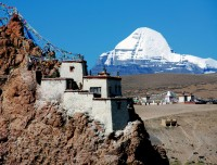 Mount Kailash from Chui Gumpa
