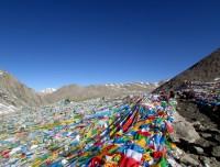 Dolma La pass 5,600 miters