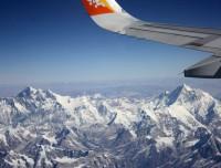 Scenic flight Kathmandu Paro