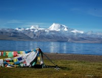 Scenic Namtso Lake