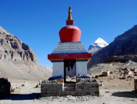 Yamadwar and Mount Kailash view